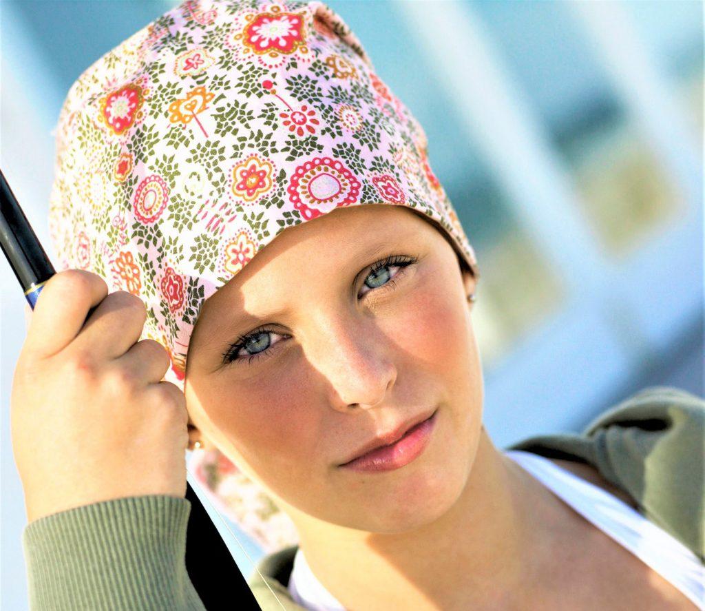 Los pañuelos oncológicos para los más pequeños incorporan diseños vivaces y divertidos
