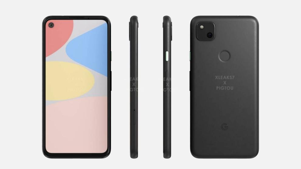 moviles baratos google pixel 4a